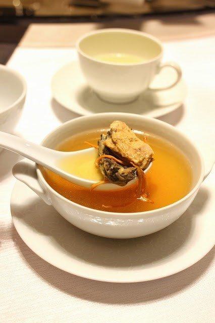 蟲草花燉竹絲雞 - Man Ho Chinese Restaurant - Guangdong - Coloane-Taipa - Macau