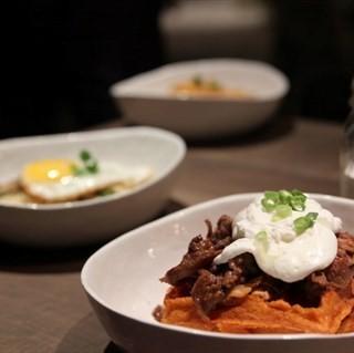 Waffles -   / Montana Brew Bar (Dhoby Ghaut)|Singapore