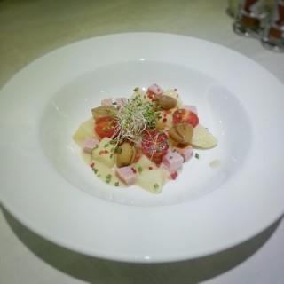 Winter Potato Salad with Ham and Chestnut -  Balestier / Collin's Grille (Balestier) Singapore