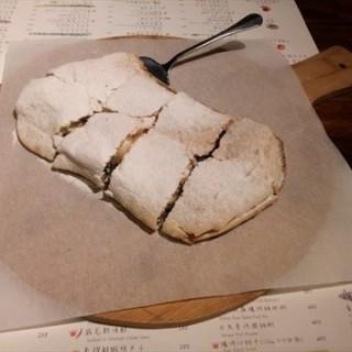 榛果巧克力香蕉比薩(蛋奶素) -  dari Le NINI (林口區) di 林口區 |New Taipei / Keelung