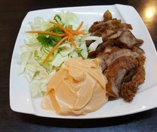 泰式特調烤肉沙拉 -  dari 泰僑村 (北區) di 北區 |Taichung